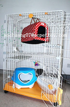 Large wire and plastic Cat Cages for sale