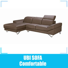 Home furniture leather sectional sofa MY059