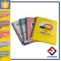 promotional item exercise spiral notebook for school students