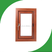 XIANGYING Aluminum composite wood awning windows&double glaze float glass&top hung awning window,top hinged awning windows