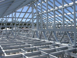 High quality and good price steel structure, fabricated steel
