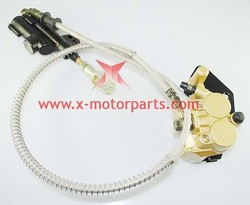 The rear disc brake assy for the 50cc to 150cc dirt bike