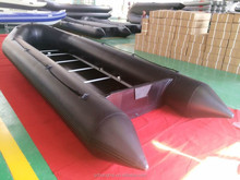 8m big inflatable boat 8m plywood floor inflatable boat