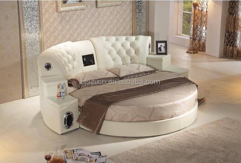BF05-150916-1 round bed with speaker, massage, DVD .JPG