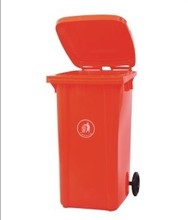 100L wheelie garbage can/waste paper basket/hotel waste bin