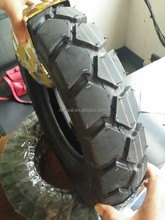 china popular pattern three motocycle tyre and inner tube 4.00-8 400-8