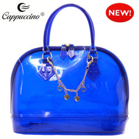 2015 spring summer wholesale promotional fashion candy jelly bag silicone bag