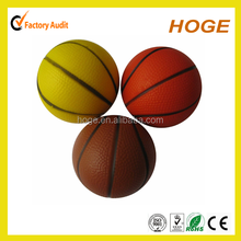 63mm PU Basketball stress ball for promotional