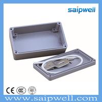SAIP/SAIPWELL 111*64*37 IP66 Waterproof Electrical Sealed Junction Box Die Cast Aluminium Case
