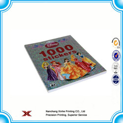 sticker book printing