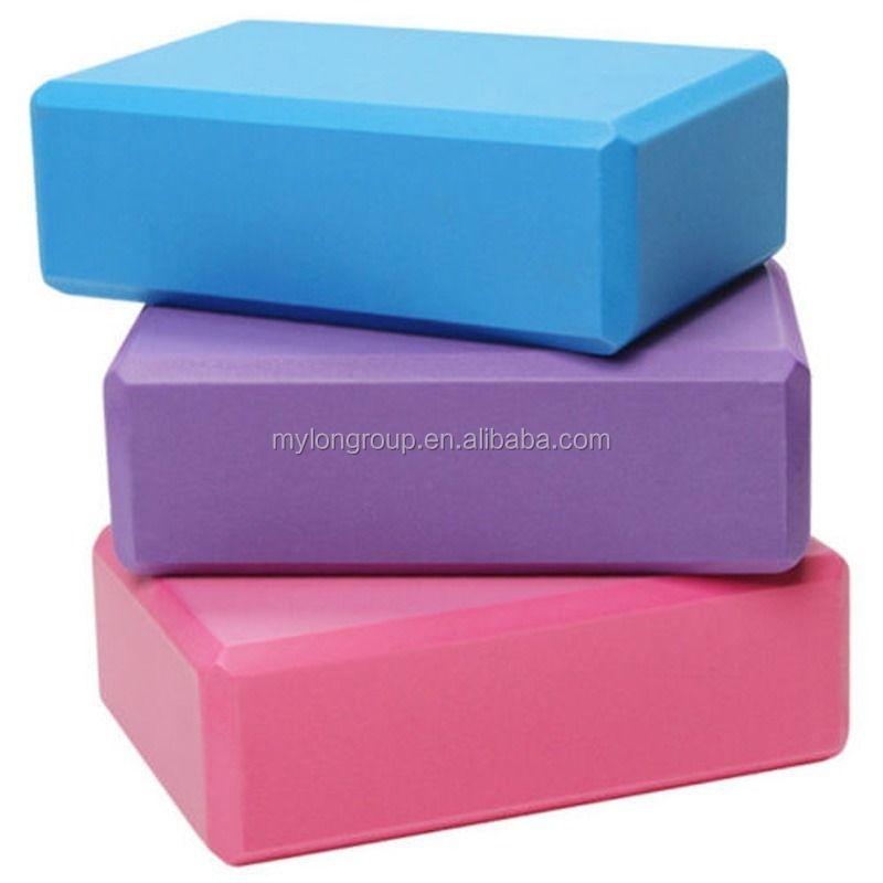 Yoga Exercise Fitness No Slip Durable Foam Yoga Blocks
