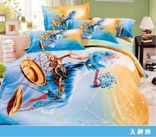 constellation design 3d duvet cover set