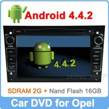 Ownice C200 Quad Core Pure Android 4.4.2 For opel vectra dvd navigator HD 1024*600