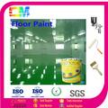 interior al aire libre del piso de concreto antideslizantes de auto- nivelación del piso de poliuretano de la pintura