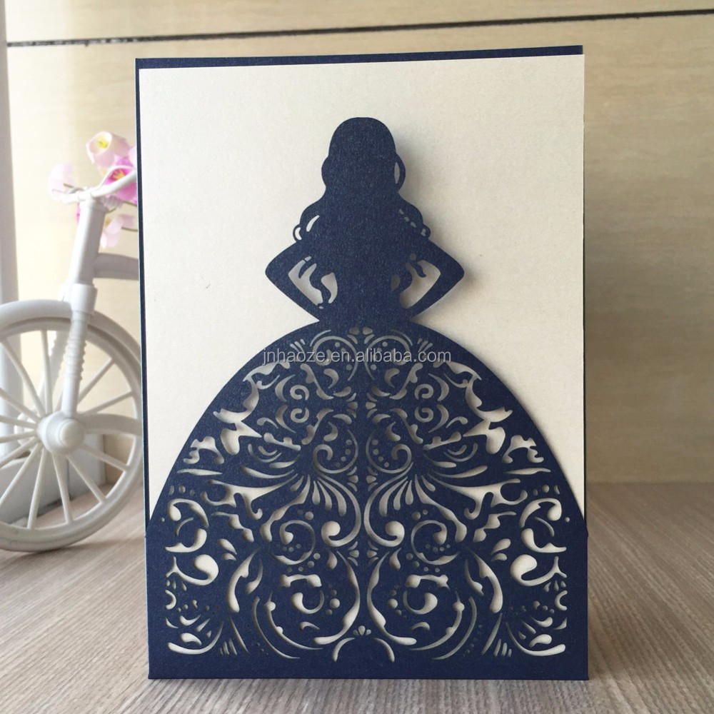 Customized Birthday Greeting Cardwedding Invitation Card Wholesale
