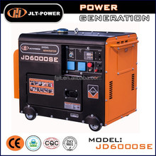 home use silent type diesel generator!!! 5 kw small silent diesel generator, JLT-POWER diesel generator set silent
