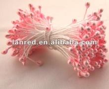 Pink flower Decoration Pearlized Flower Stamen/ Artificial Pistil