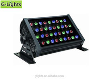 RGB led flood lighting 36W square wall washer light High Mast Lighting
