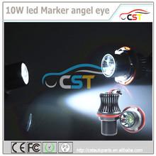 High Power 10W 7000K E30/E60 Led angel eyes car led angel eyes bulb