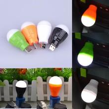 Portable Mini 5W USB LED Light Lamp Bulb For Computer Laptop PC Desk Reading