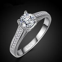 platinum plated new wedding ring wholesale stock size 7 8 9