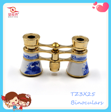 Hot Sale New Toys Craft Mini Folding Binoculars Telescope for Christmas Decoration 2015