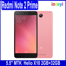 Mobile phone wholesale For XIAOMI redmi note 2 prime cell phone Dual SIM smart phone