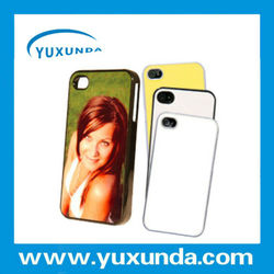 Yuxunda 3D sublimation blank case for Iphone 5,4s,4 on hot sale