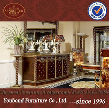 0026 antique classic dining room furniture high quality wooden buffet