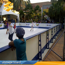 UHMWPE Plate 20mm Synthetic Ice Rink Barrier Sheet Ice Skating
