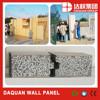 Wuhan Daquan 96% eco green wall Panels - EPS cement sandwich wall panel