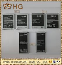 HG Mobile phone original battery For Samsung , For Samsung S3 S4 S5 S6 original battery