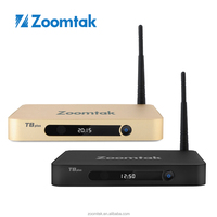 Original Zoomtak T8 Plus Amlogic S812 Quad Core 4K Android 5.1 TV Box with Kodi 15.1 2GBRAM /16GBEMMC Bluetooth 4.0 1000M Lan