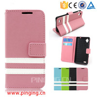Guangzhou factory wholesale mobile accessory mix colour leather stand case cover for Blackberry priv