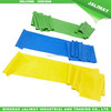 Latex resistance exercise bands for fitness and stretching workout
