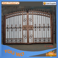 used wrought iron door main gate/ gate grill design