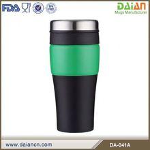 Popular insulated decorative eco friendly slim coffee mug