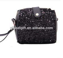 Retro sequins camera bag change purse makeup bag