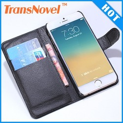 For iPhone 6 Hot Genuine Leather Case, Real Retro Case For iPhone 6 Leather Case, For iPhone 6 Wallet Case
