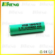 Advanced Technology Hmeng IMR 18650 2250mAh 3.7V rechargeable LiMn ecig mech mods battery 18650
