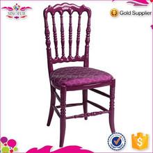 2015 New design Qingdao Sinofur wooden restaurant with napoleon chair