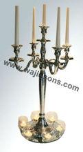 Candelabras Pillar Candle,Decorative Pillar Candles,Candelabra 5 Candle,Metal Candelabra Decor,Metal Candelabras