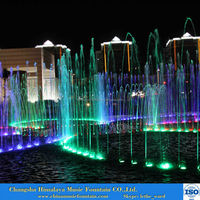 Outdoor Water Fountains Music Fountain Light