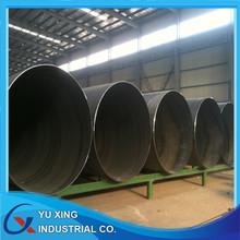 ASTM A53 GR.B spiral steel pipe, water/gas steel pipe