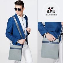 Custom OEM Service Genuine Leather Bag Manufacture Supply Your Brand Logo Messenger Sling Bag