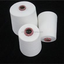 30s/1 polyester ring spun yarn fabric knitting medical