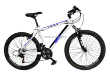 26 bike alloy frame white wall bicycle tandem bicycle fork shift