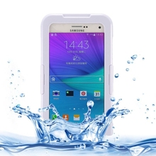 New design deluxe waterproof case for samsung galaxy note 5