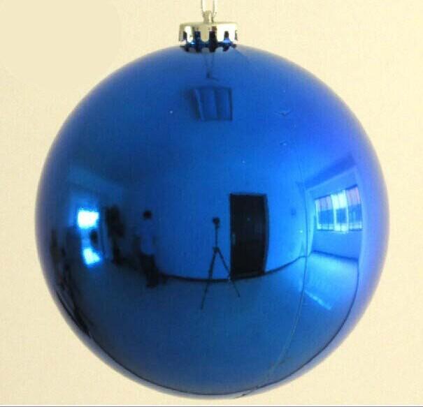 Cm plastic large christmas ornament hanging