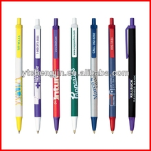 Advertising plastic promotional pens/plastic counter fountain pen
